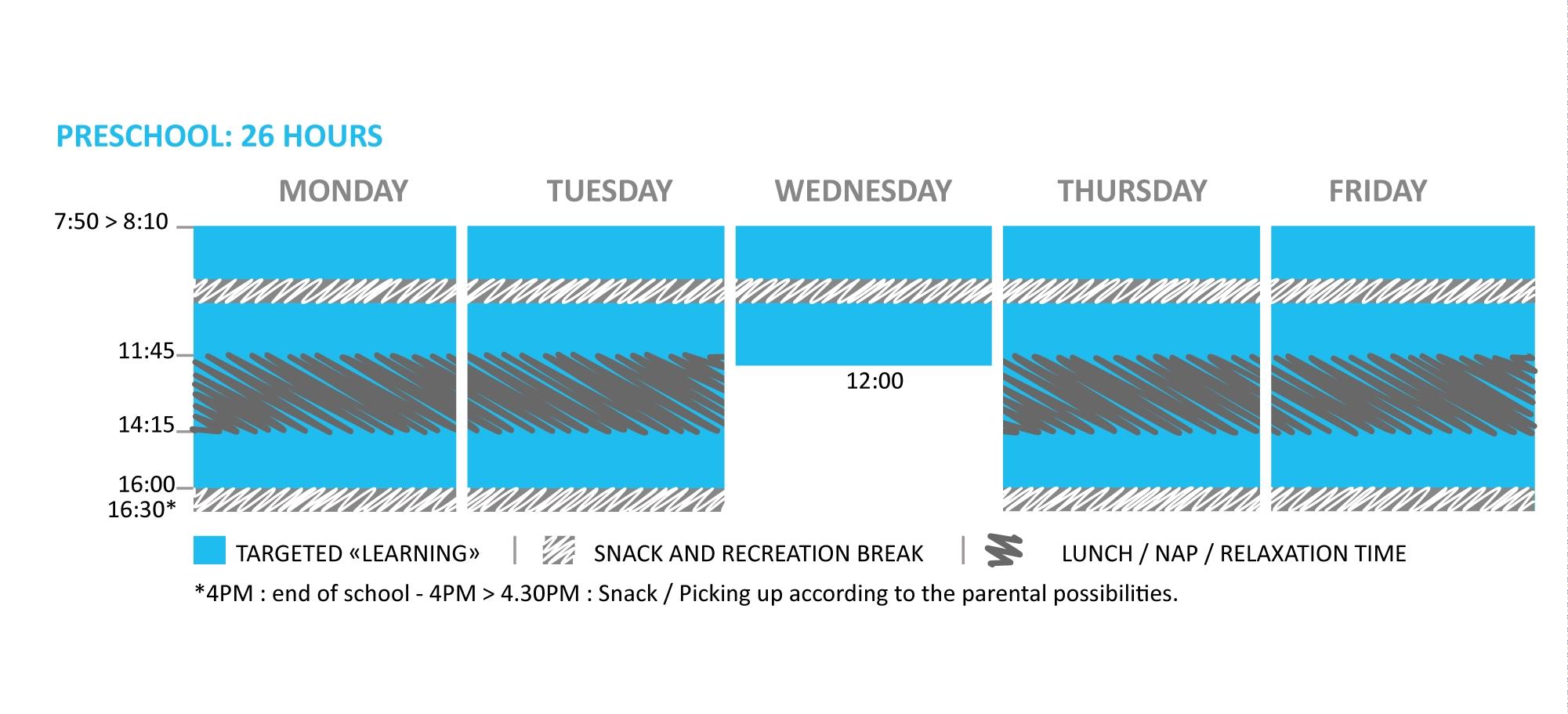 Timetable And Calendar - Ecole Française Internationale De Luang Prabang L'ecole Bilingue School Calendar