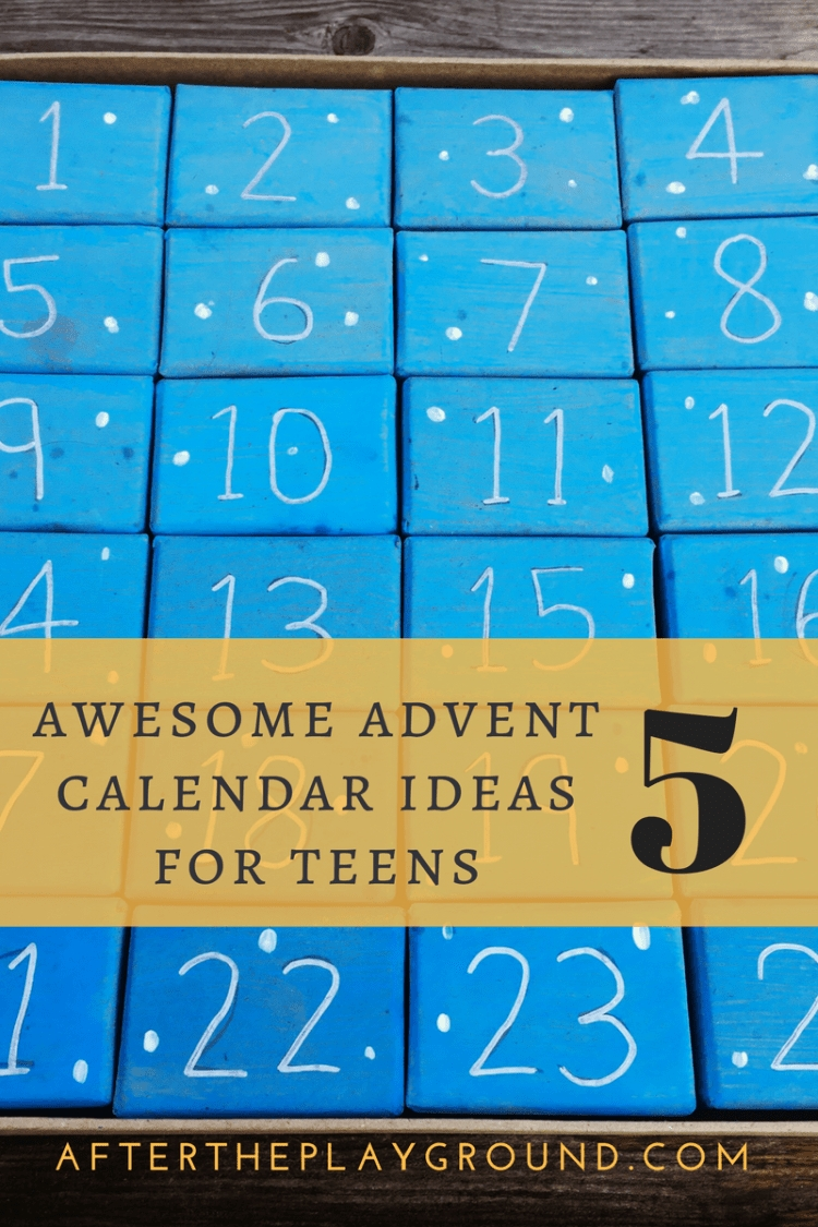 Top 5 Awesome Advent Calendar Ideas For Teens And Students Advent Calendar Quiz Template