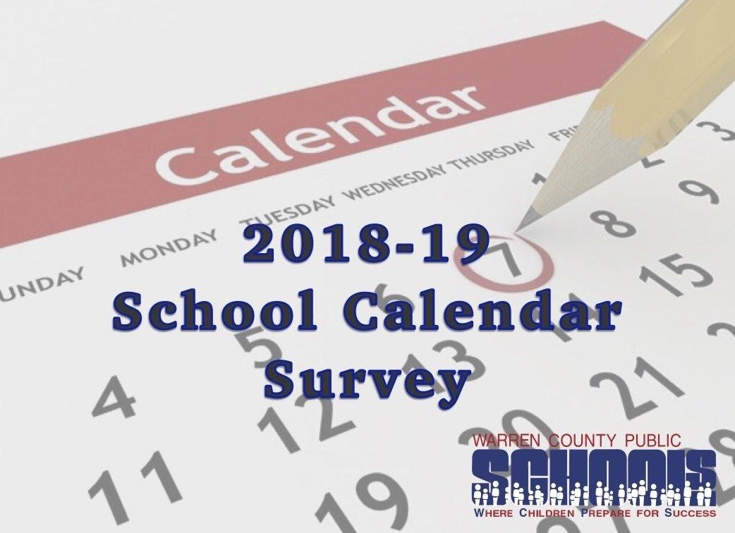 """Warren Co Schools On Twitter: """"have You Taken The 2018-19 Calendar Extraordinary School Calendar Warren County Ky"""