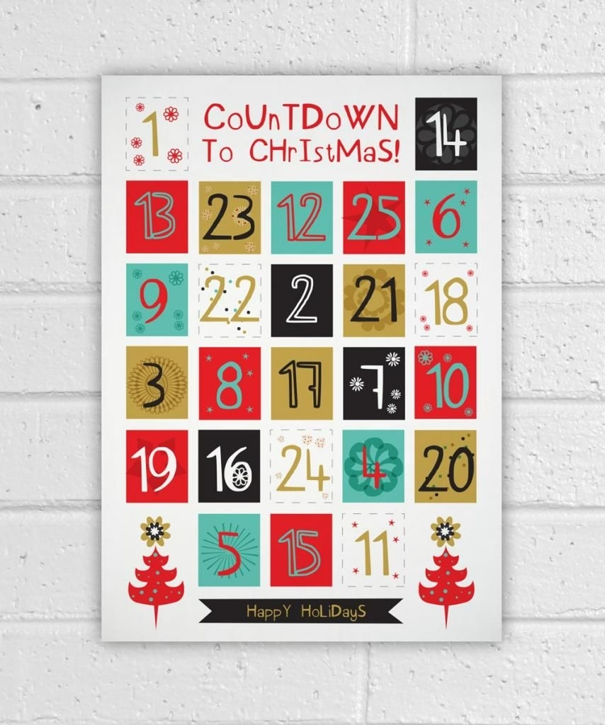 12 Advent Calendars To Help You Count The Days To Christmas Advent Calendar Countdown Or Count Up