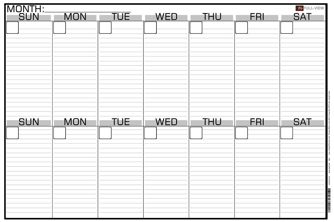 2 Week Blank Calendar Calendar Printable Free Free 2 Week Blank 2 Week Calendar Template