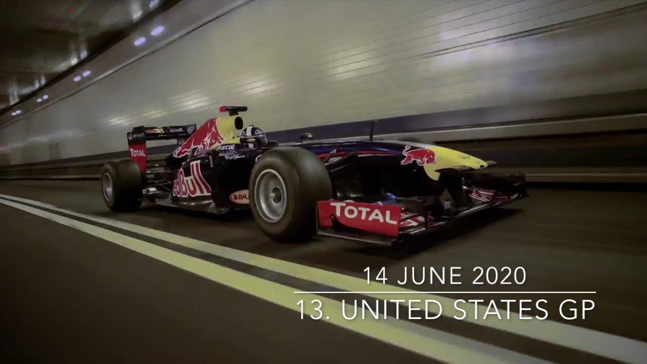 2020 F1 Season Calendar - Youtube Remarkable 2020 Formula 1 Calendar