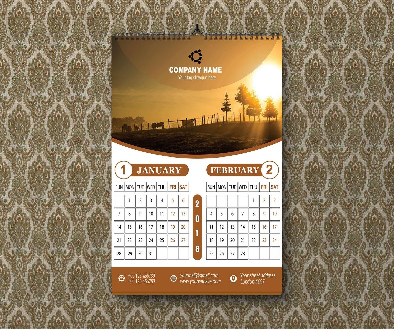 24 Stunning Calendar Designs For Inspiration (Updated Calendar Printing London Ontario