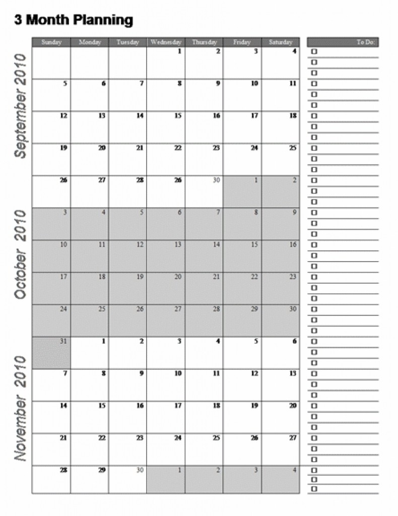 4 Month Calendars Printable 2017 Calendar Stunning 6 Within Calendar Calendar Template Three Months Per Page