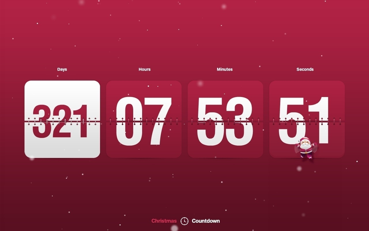49+] Desktop Wallpaper Countdown Timer On Wallpapersafari Countdown Calendar For Your Desktop