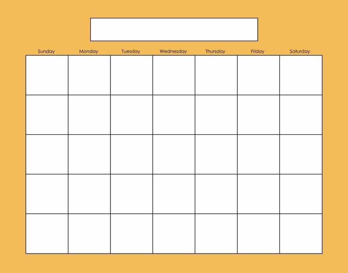 4Shared - Blank Calendars - Solids - 11X14 - Shared Folder - Free Shared Calendar Is Blank