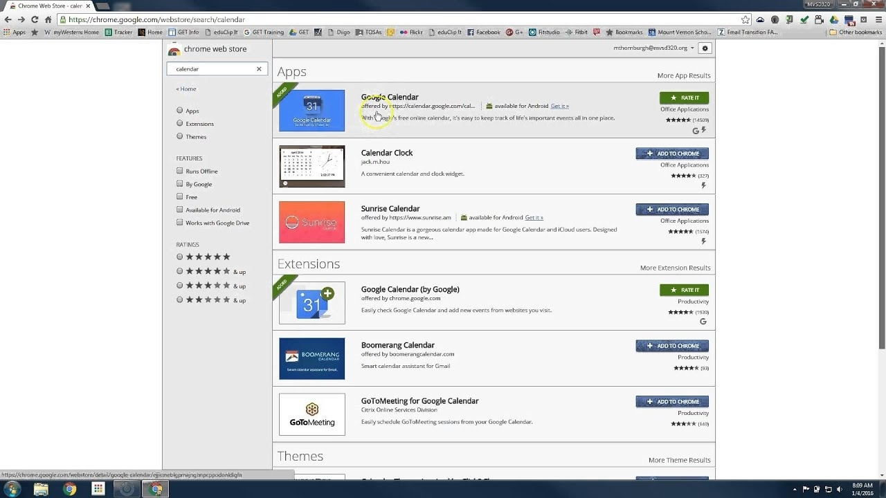 Adding Gmail And Calendar Icons To Your Task Bar - Youtube Calendar Icon On Taskbar