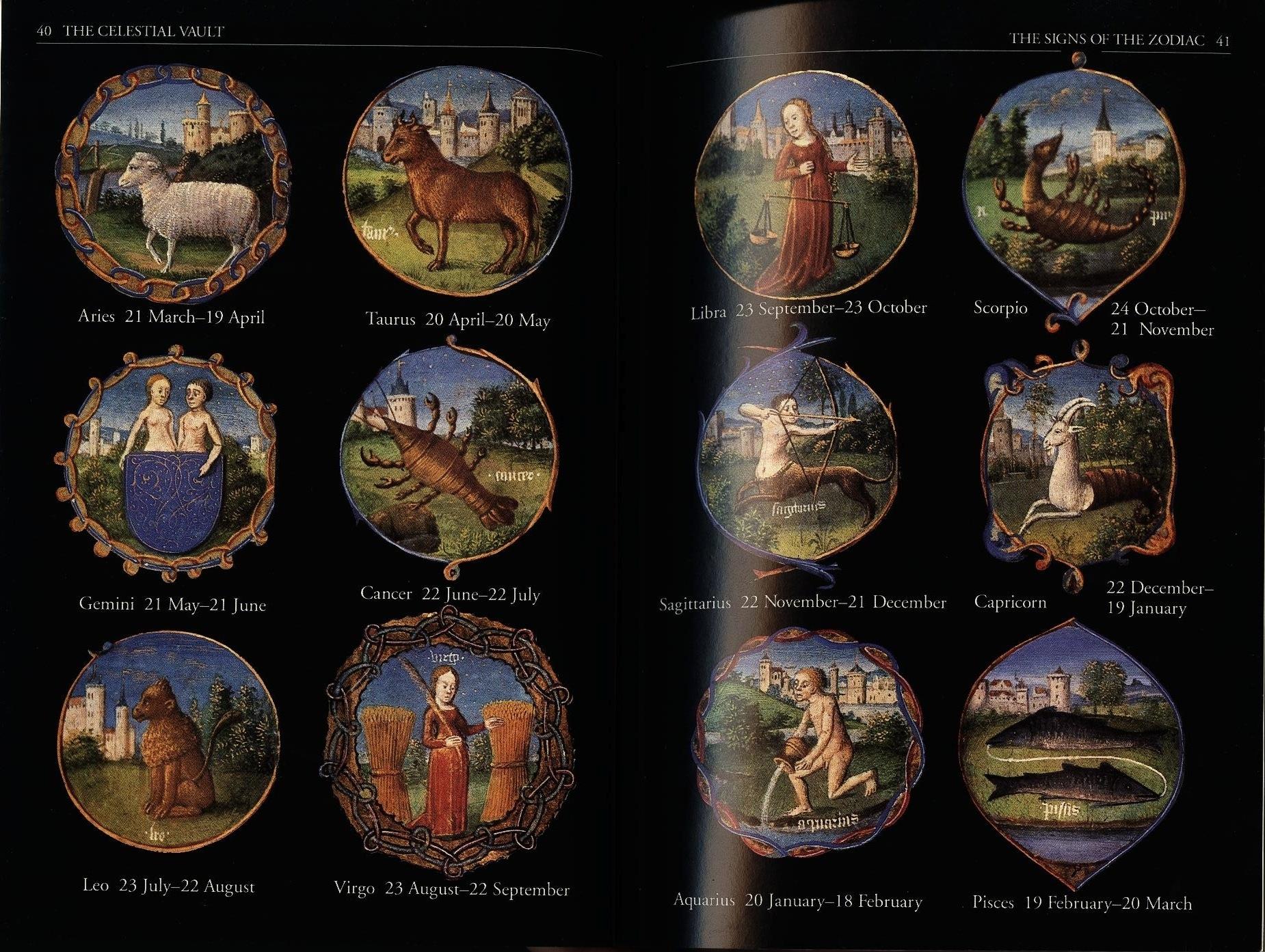 Astrological Sign - Wikipedia Zodiac Calendar In Order