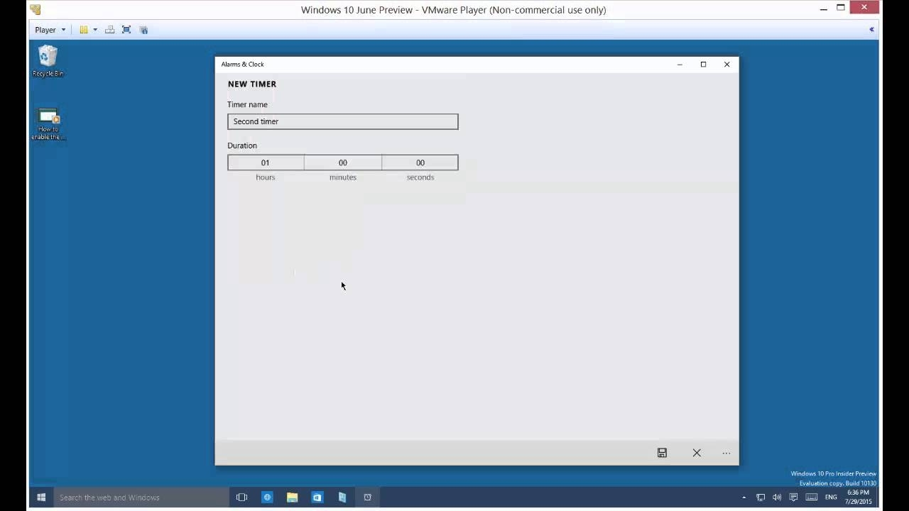 Awesome Countdown Timer Features In Windows 10 - Youtube Countdown Calendar For Your Desktop