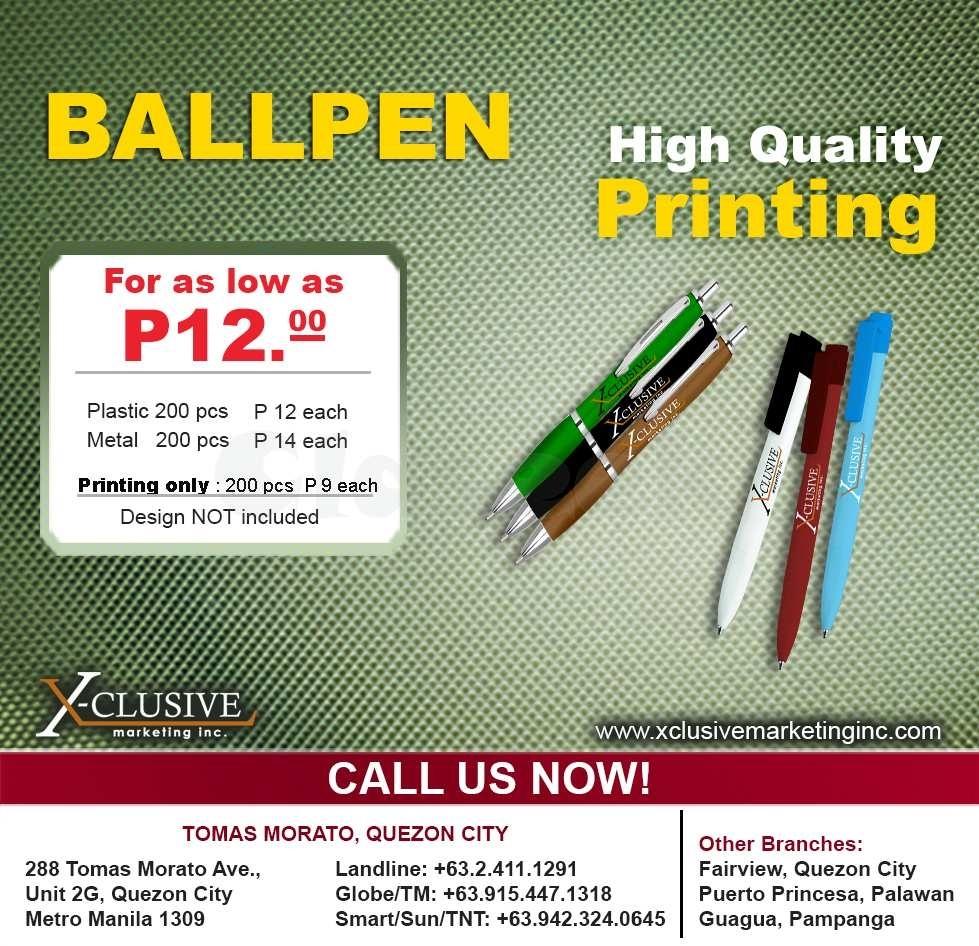 Ball Pen, Business Card, Lanyard. & Other Merchandise Quezon City Calendar Printing In Quezon City