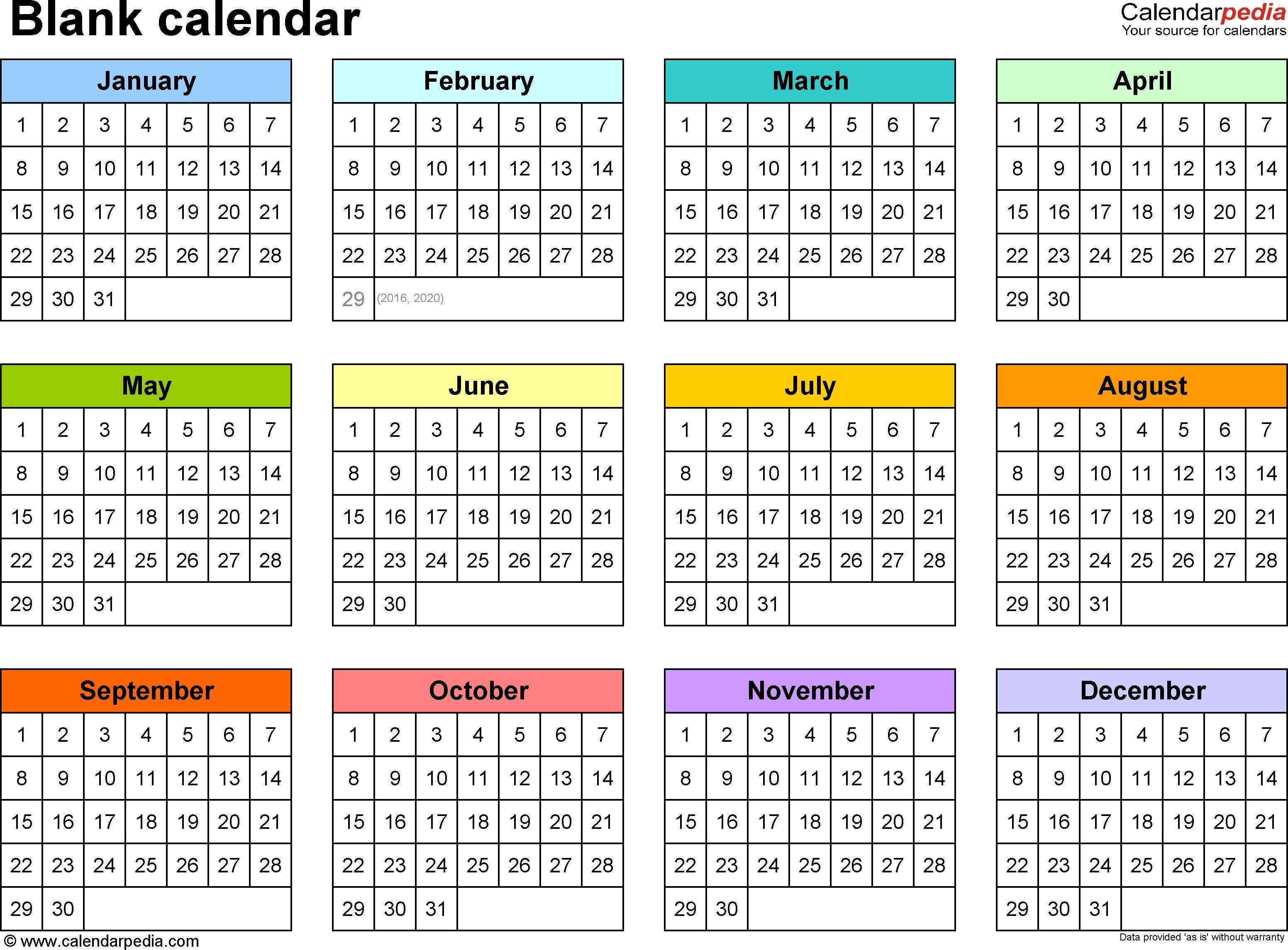 Blank Calendar - 9 Free Printable Microsoft Word Templates 5 Month Calendar Template