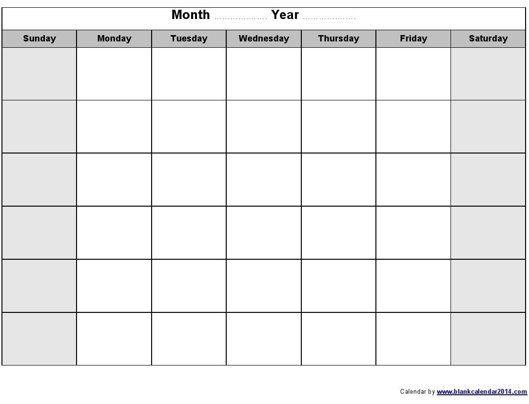 Blank Weekly Calendar Y Through Friday Schedule Template | Smorad Calendar Template Saturday Through Friday