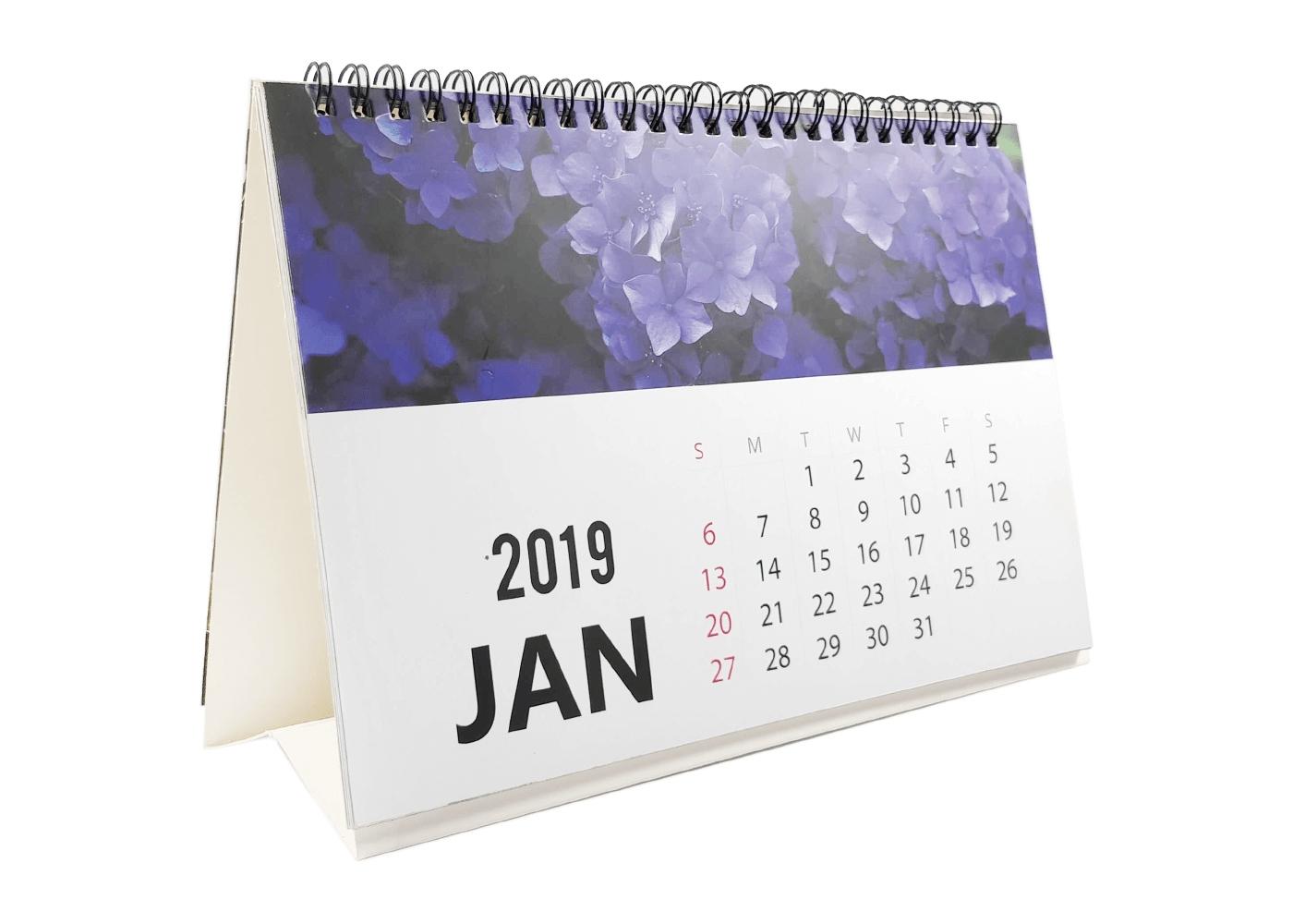 Calendar 2019  Photo Calendar  Personalised Desk Calendar And Table Calendar Printing Cost In Kolkata