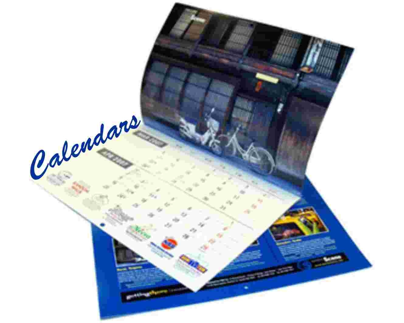 Calendar Printing Types Of Calendar Printing