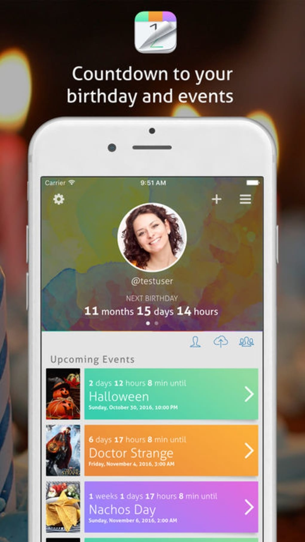Countdown Calendar Events For Iphone - Download Countdown Calendar On Iphone 6