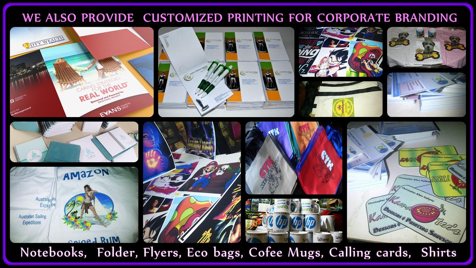 Digital Tshirt Printing Quezon City - Dreamworks Calendar Printing In Quezon City