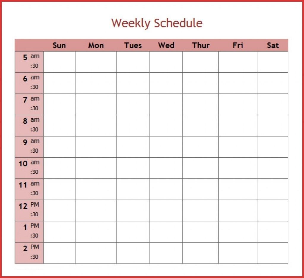 Fresh 5 Day Calendar Template   Job Latter 5 Day Calendar Template Word