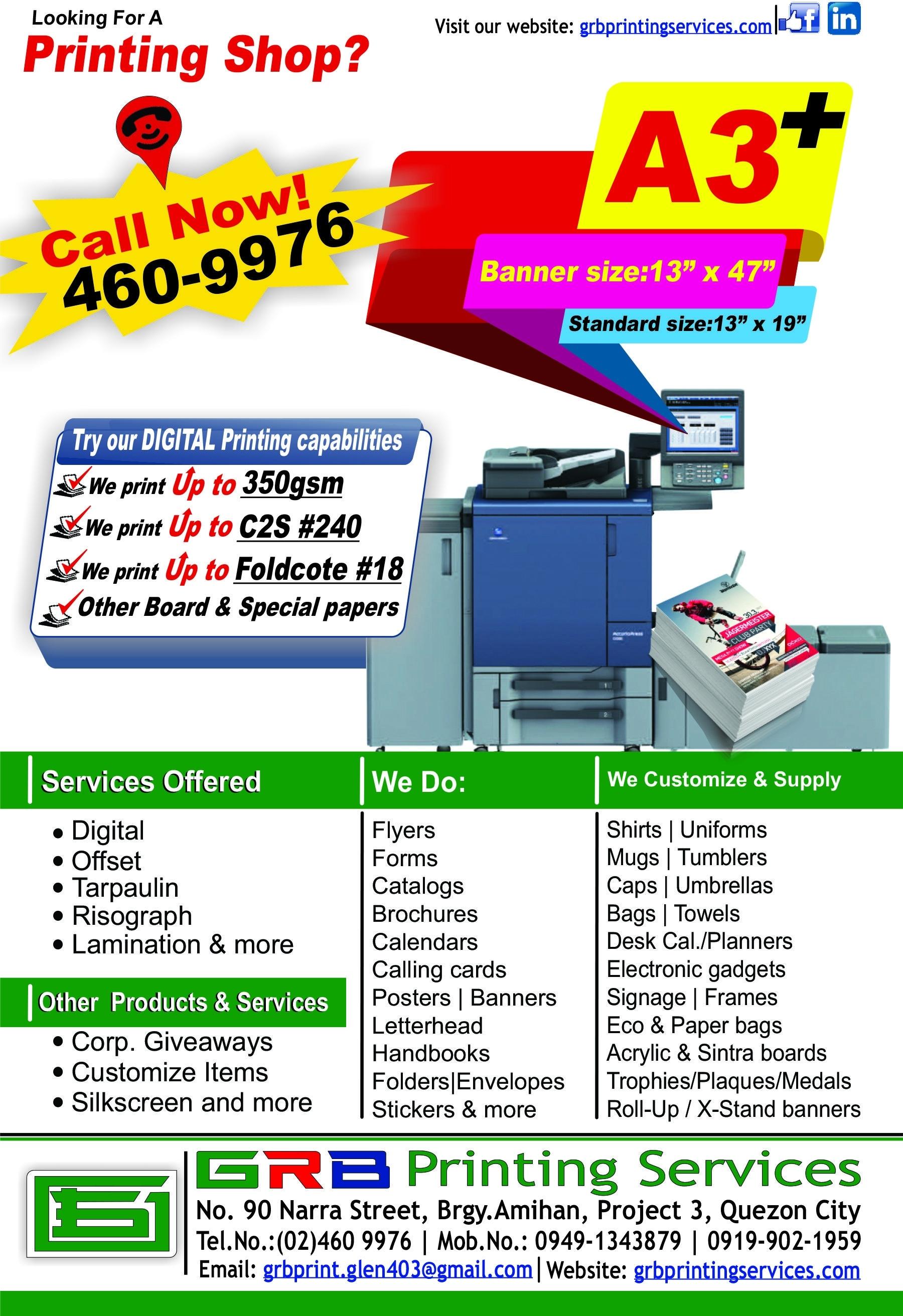 Glen Dela Rosa Bensurto - Owner / Proprietor - Grb Printing Services Calendar Printing In Quezon City