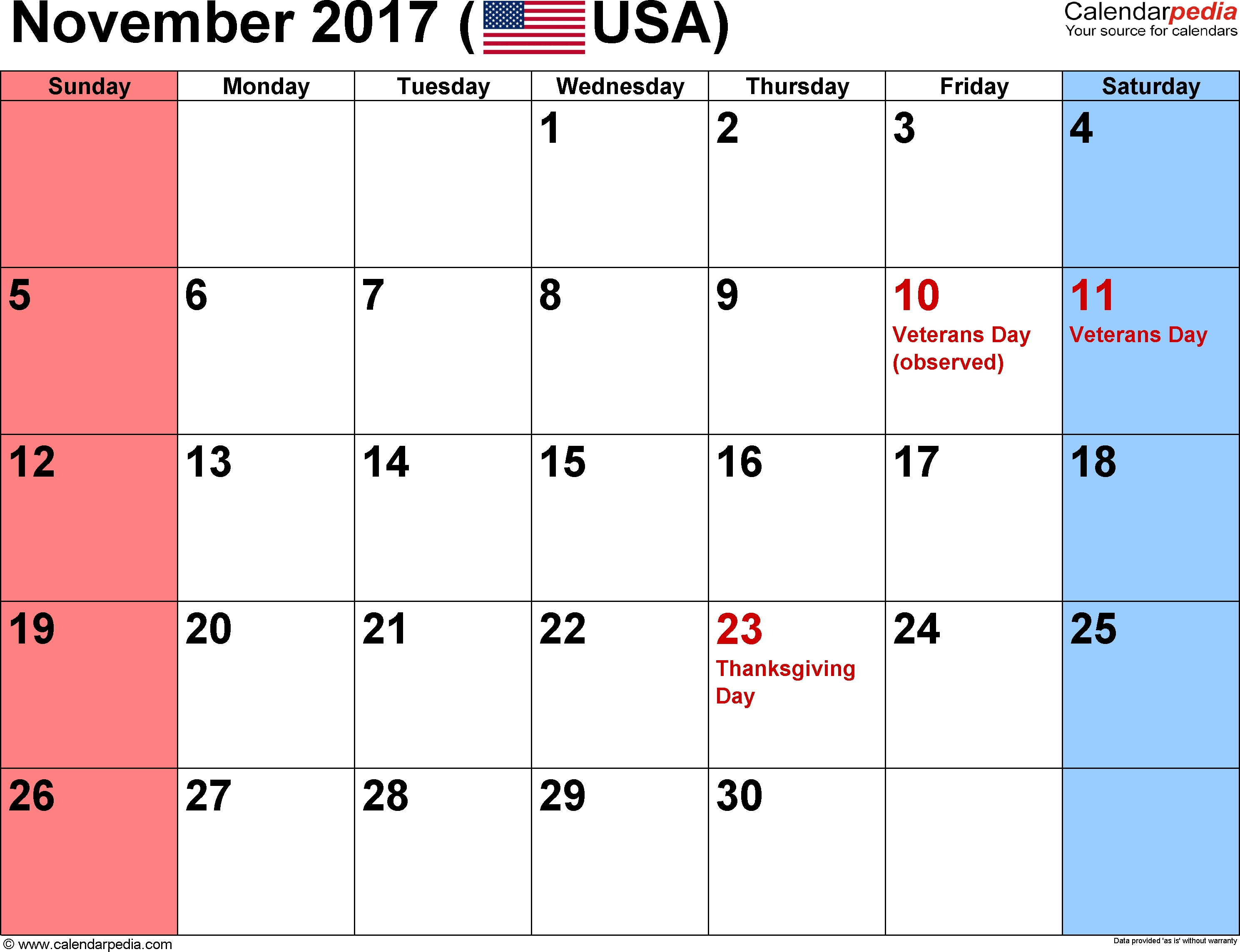 Holidays | November Calendar | November Calendar, November Holidays Calendar With Holidays And Events