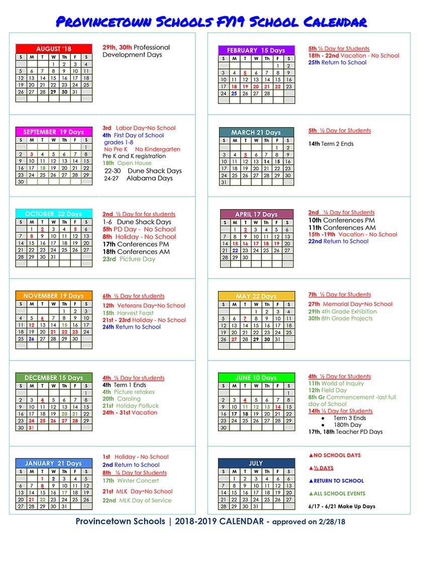 Home Impressive U Michigan School Calendar