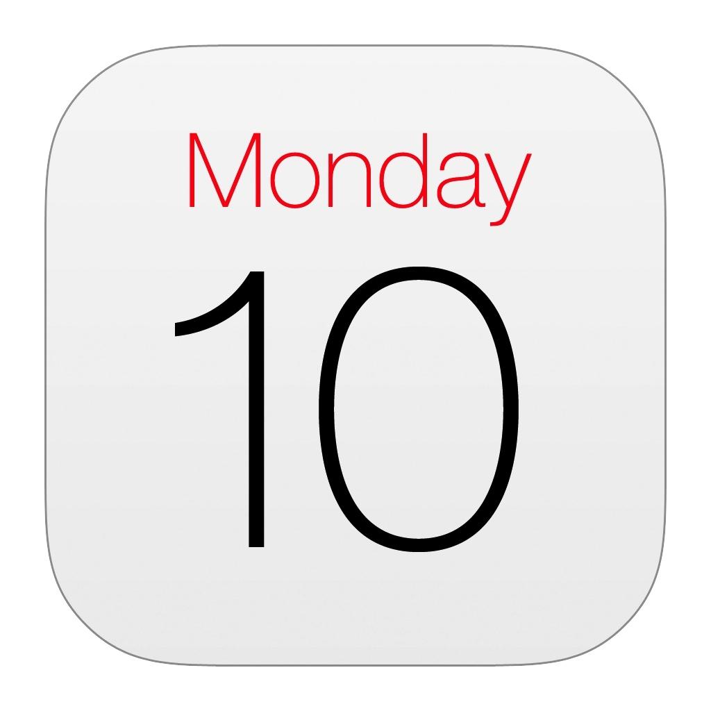 Iphone Calendar Icon #68821 - Free Icons Library Apple Calendar Icon Vector