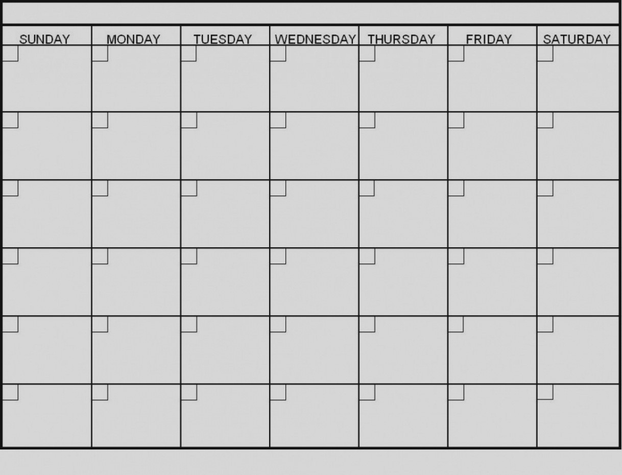Latest Blank 6 Week Calendar Template Printable 2 Planner 2018 6 Week Blank Calendar Template