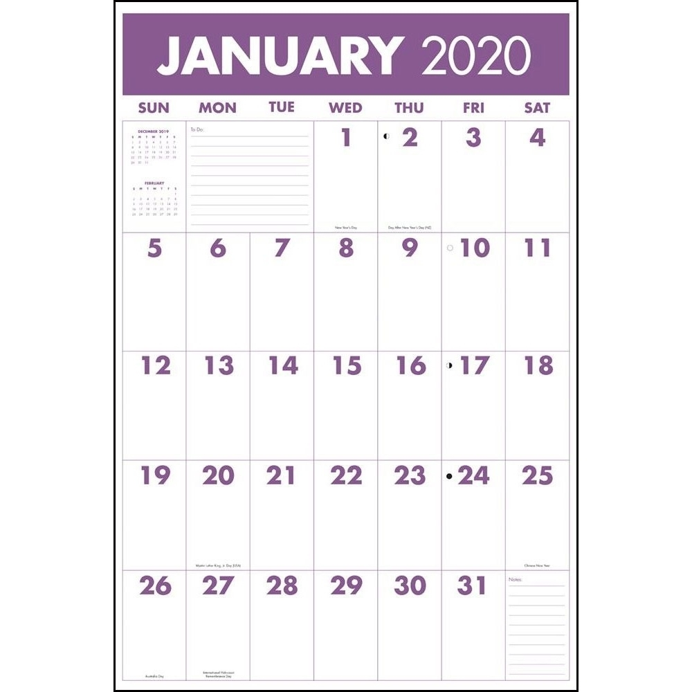 Monster Grid 2020 Wall Calendar | | Calendars 2020 Calendar For Sale