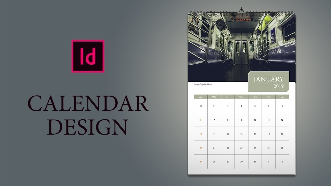 Only 16 Minutes: How To Design Calendar In Indesign - Youtube 2020 Calendar Indesign Template