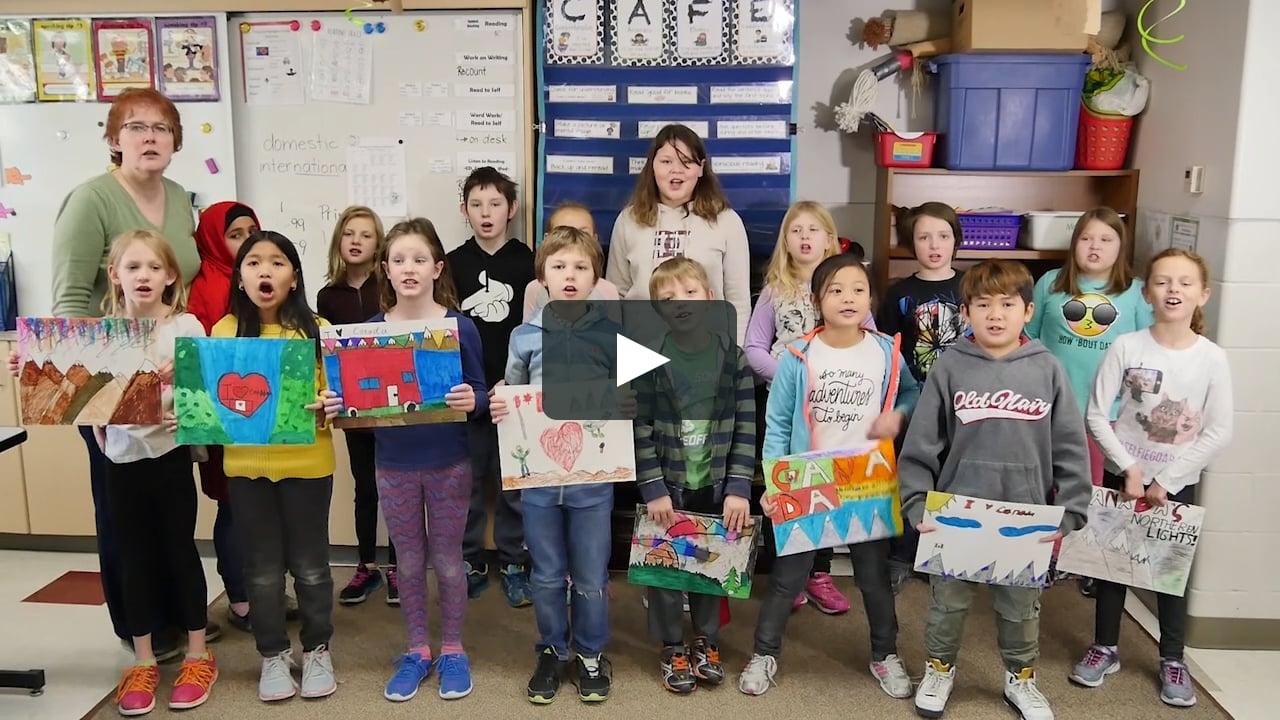 Our Canada - G. H. Dawe School - Grade 3:4 - C150 Essay On Vimeo Impressive G H Dawe School Calendar