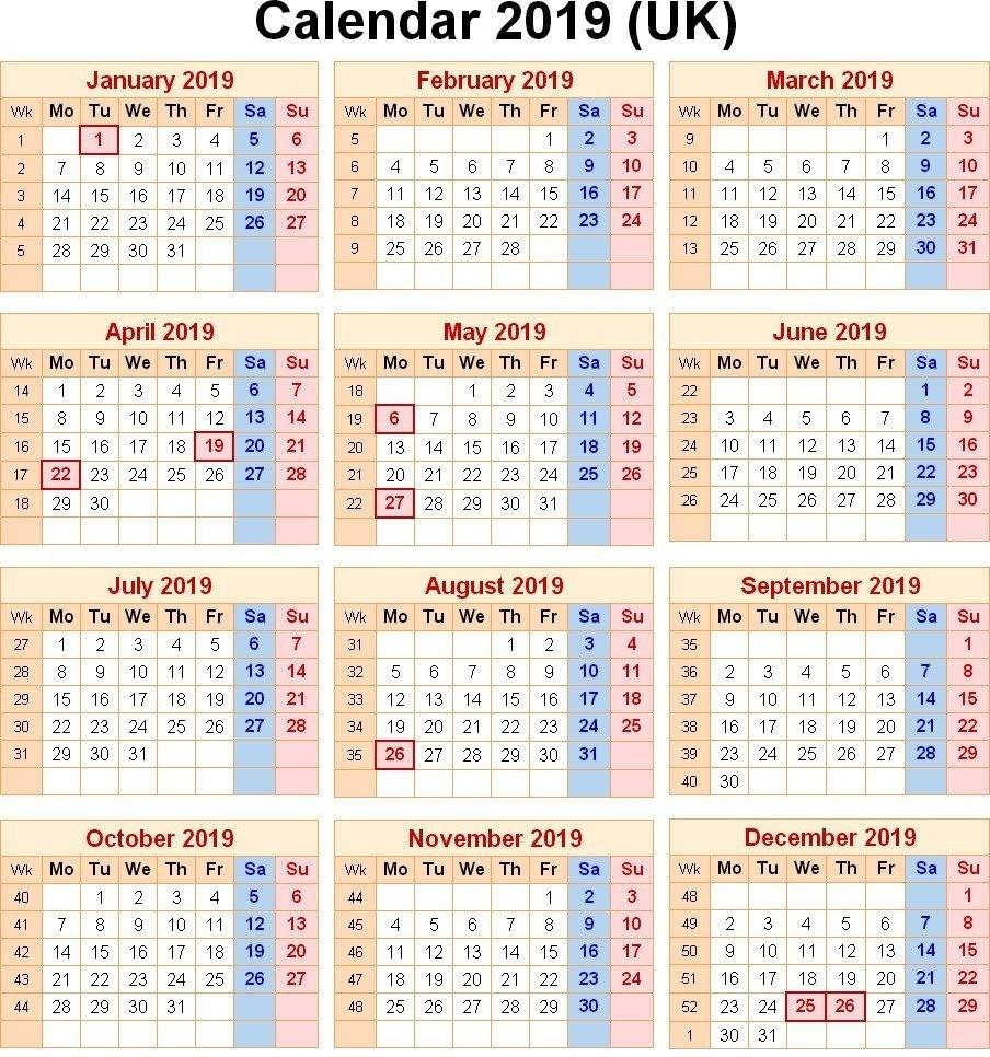 Public Holidays In Uk 2019 | School | Printable Calendar Template Calendar Holidays In Uk