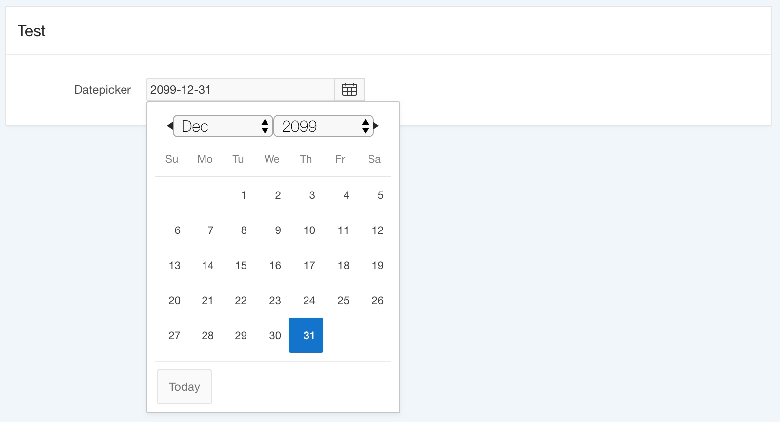 Show Today Button In Apex Datepicker Jquery Calendar Icon Not Showing