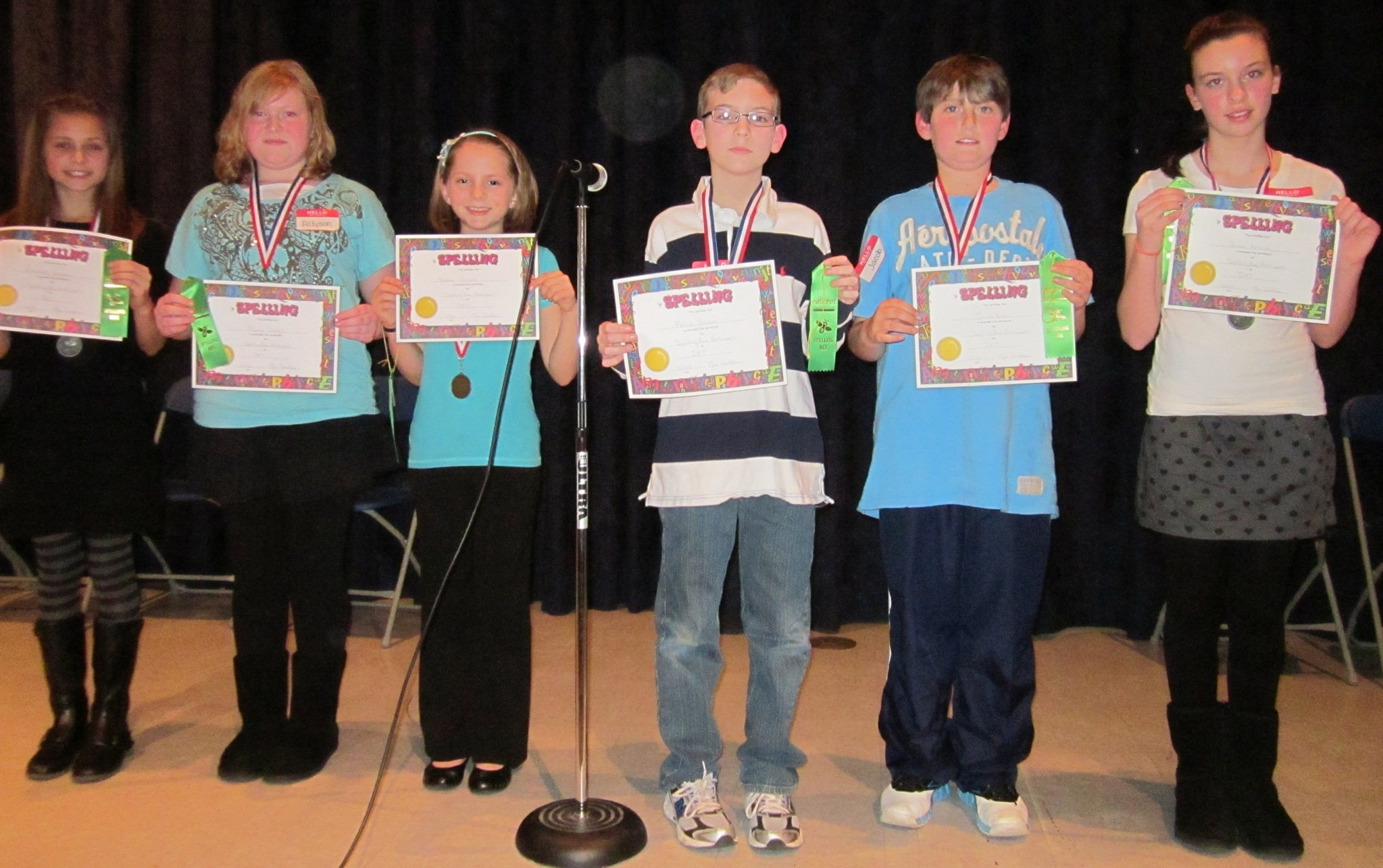 Spelling Bee Held At Mantua's J. Mason Tomlin School - Nj Exceptional J Mason Tomlin School Calendar
