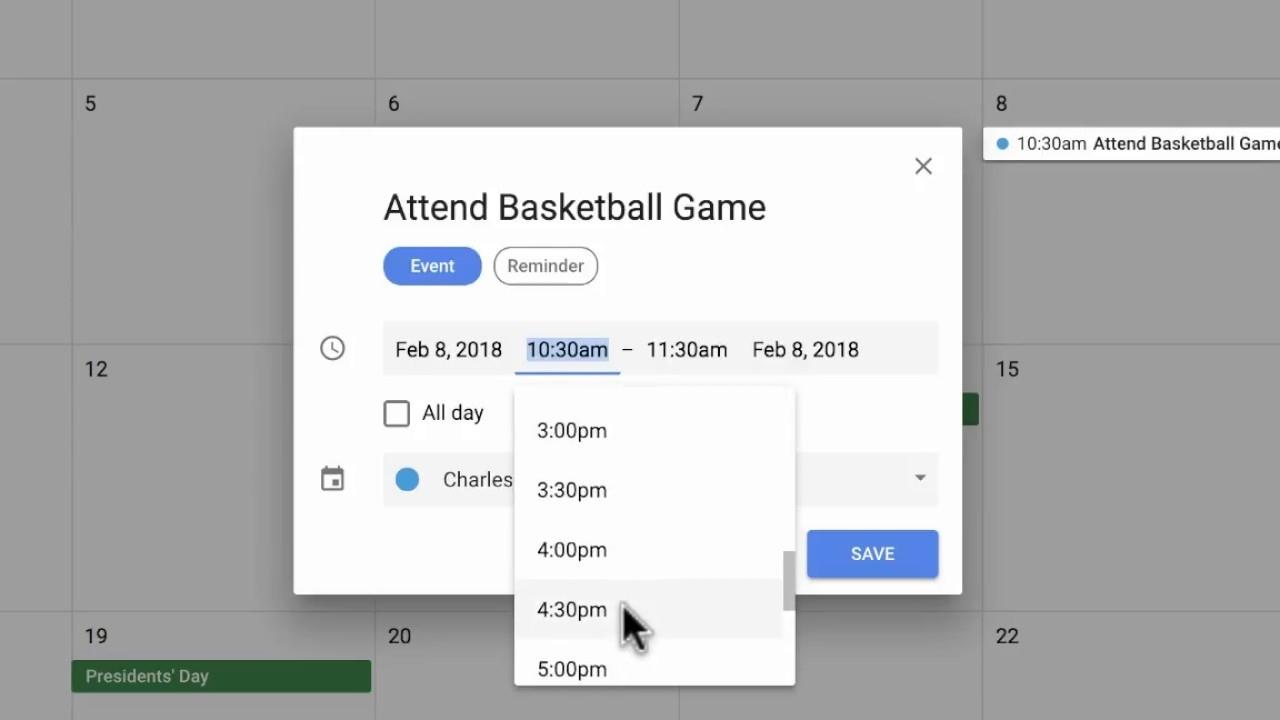 The New Google Calendar - 2018 Tutorial - Youtube Google Calendar Create Countdown