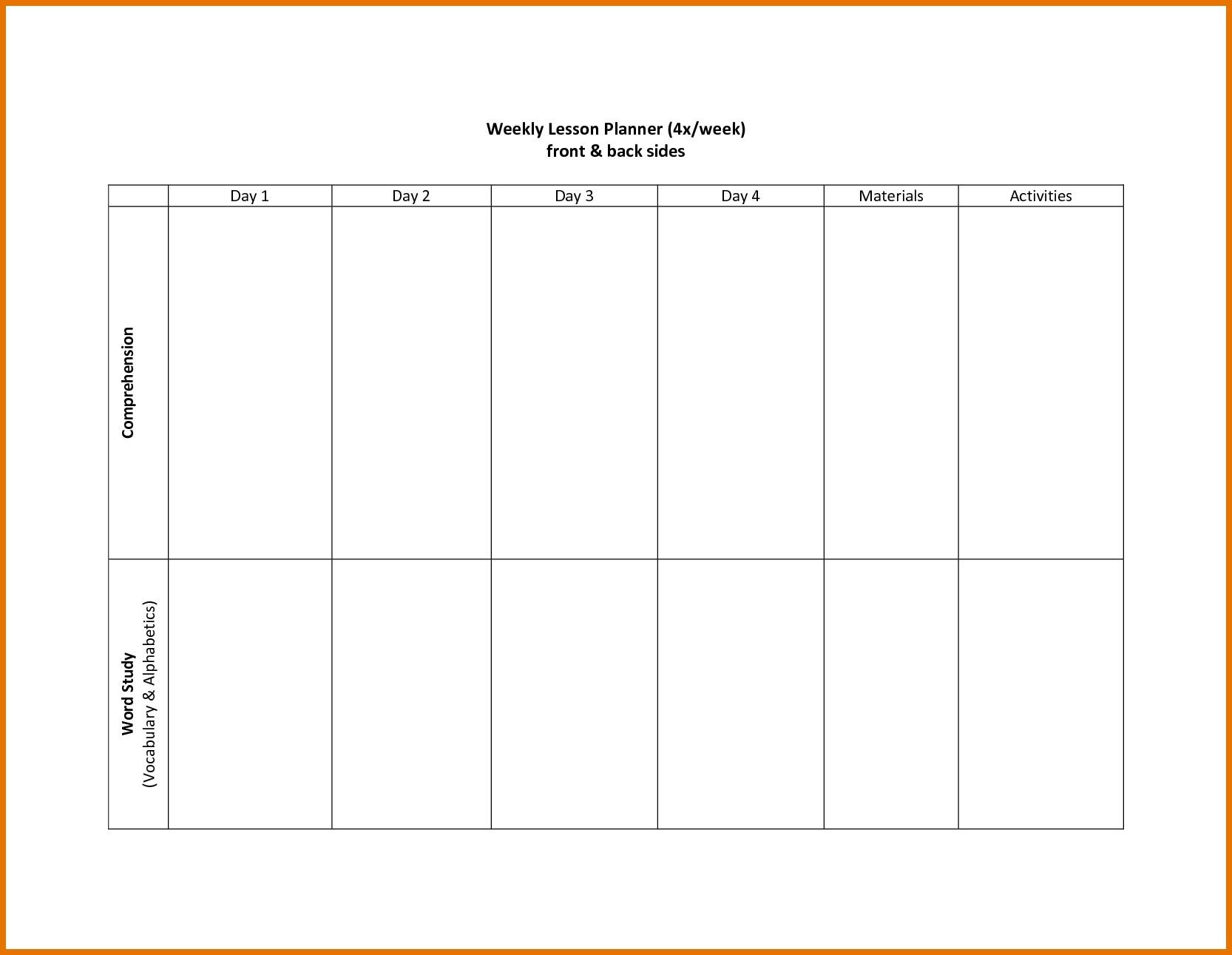 Two Weeks Calendar Template Week Impression So Printable For Two 2 Week Calendar Template