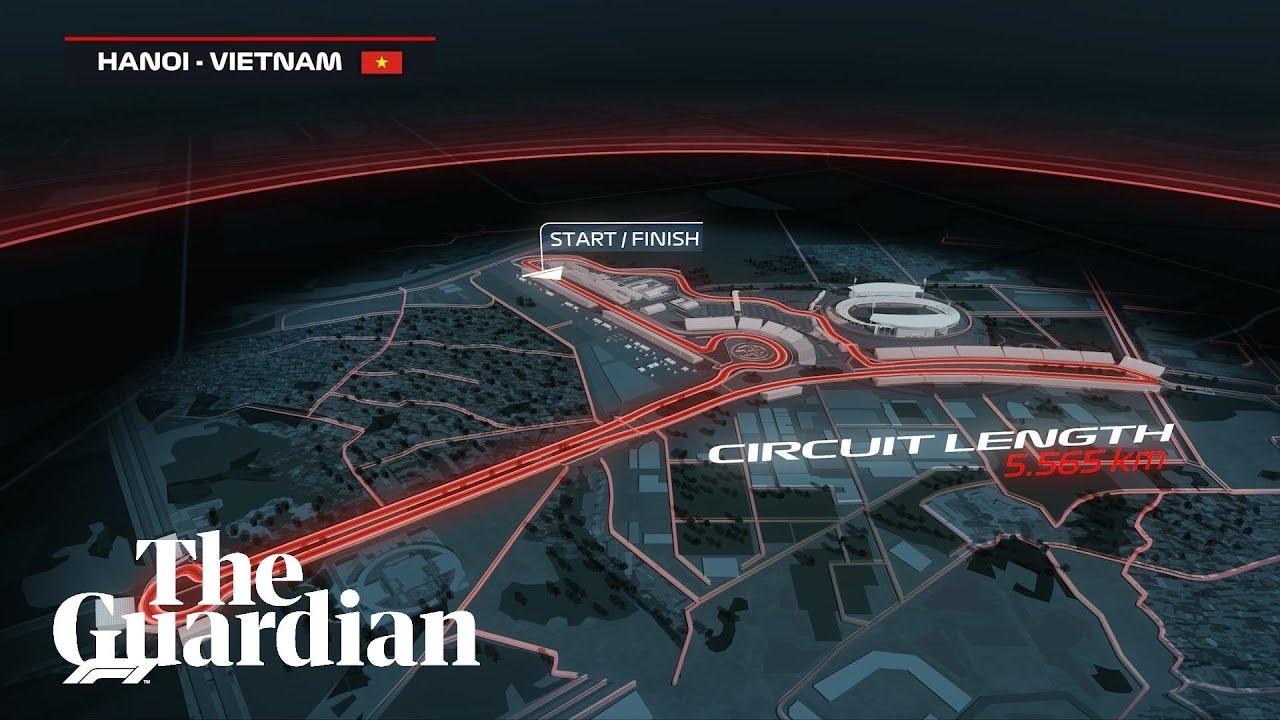 Vietnam Gp: F1 Reveals Track Map For Hanoi Street Race In 2020 Extraordinary Formula 1 2020 Calendar