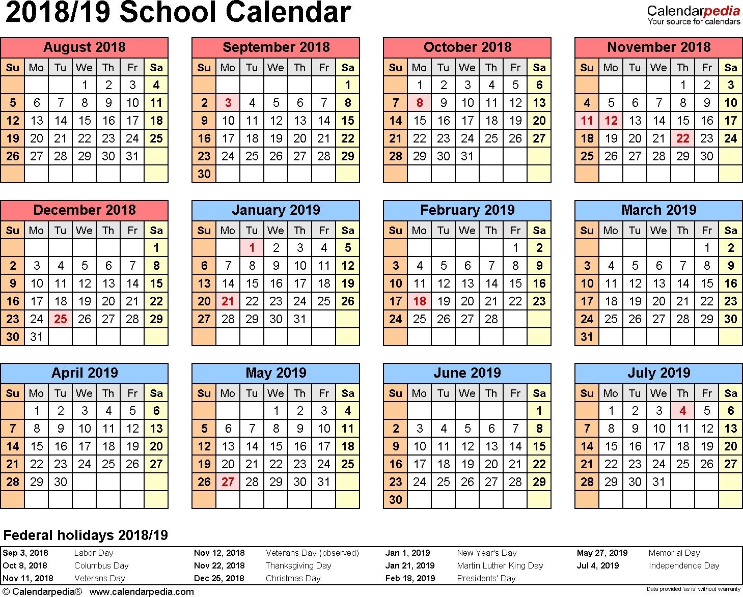 Yearly School Calendar Printable ~ Hd Calendar Printable Template Year Round Calendar Jordan School District