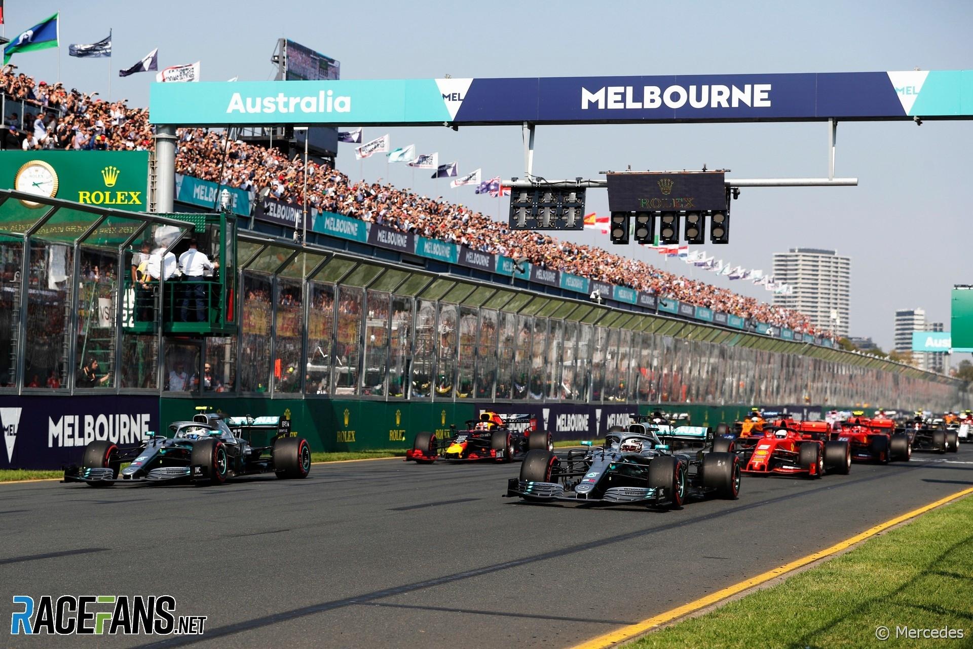 2019 F1 Calendar: Formula One Race Schedule - Racefans Printable 2020 Formula 1 Schedule