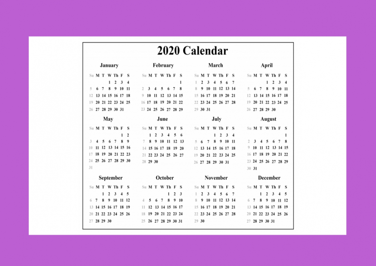 2020 Calendar With Indian Holidays Pdf Free Download - Muddoo 2020 Calendar India Pdf
