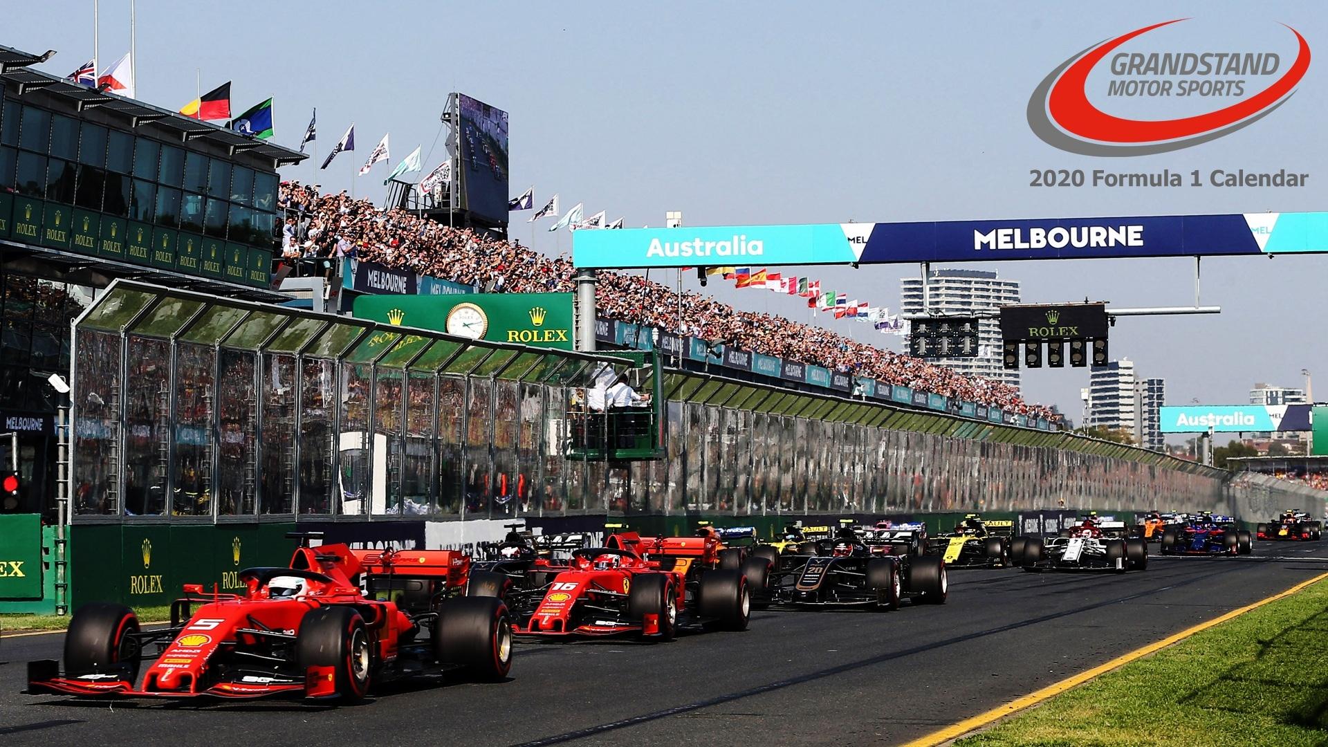 2020 F1 Calendar: Formula 1 Grand Prix Schedule Details Printable 2020 Formula 1 Schedule
