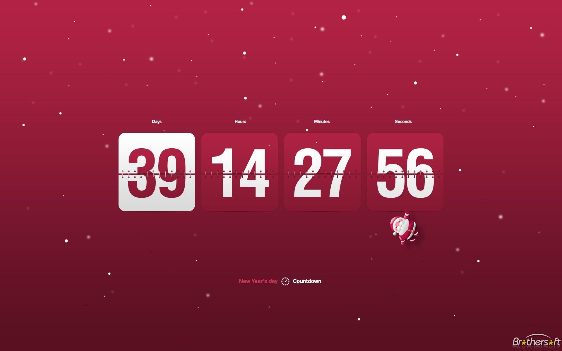 49+] Wallpaper Countdown Clock Free On Wallpapersafari Countdown Calendar For Desktop Free