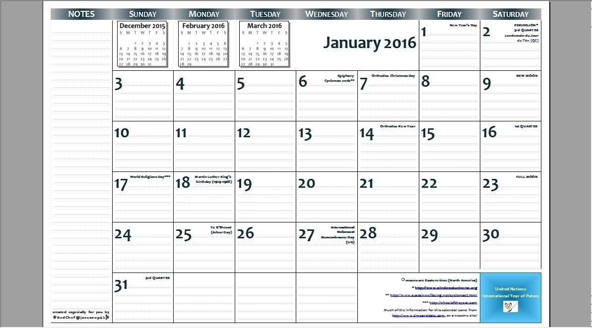 8.5 X 14 Calendar Template • Printable Blank Calendar 8.5 X 11 Printable Calendars