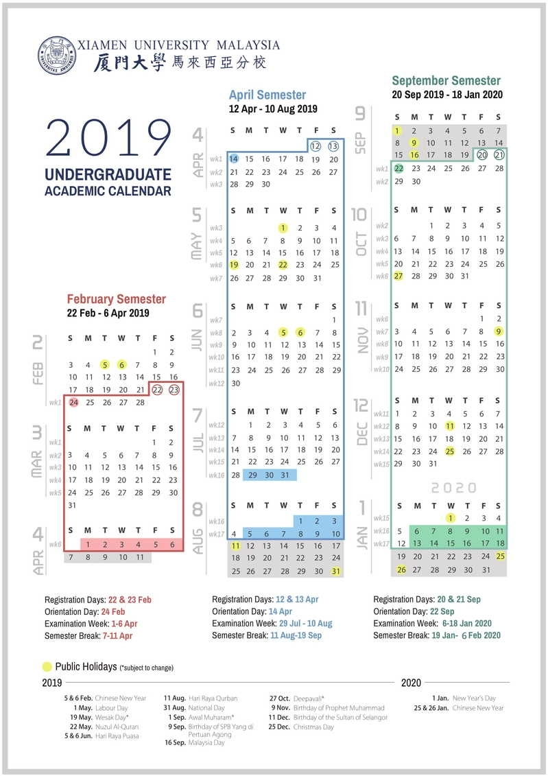 Academic Calendar & Courses Extraordinary Malaysia School Academic Calendar 2020