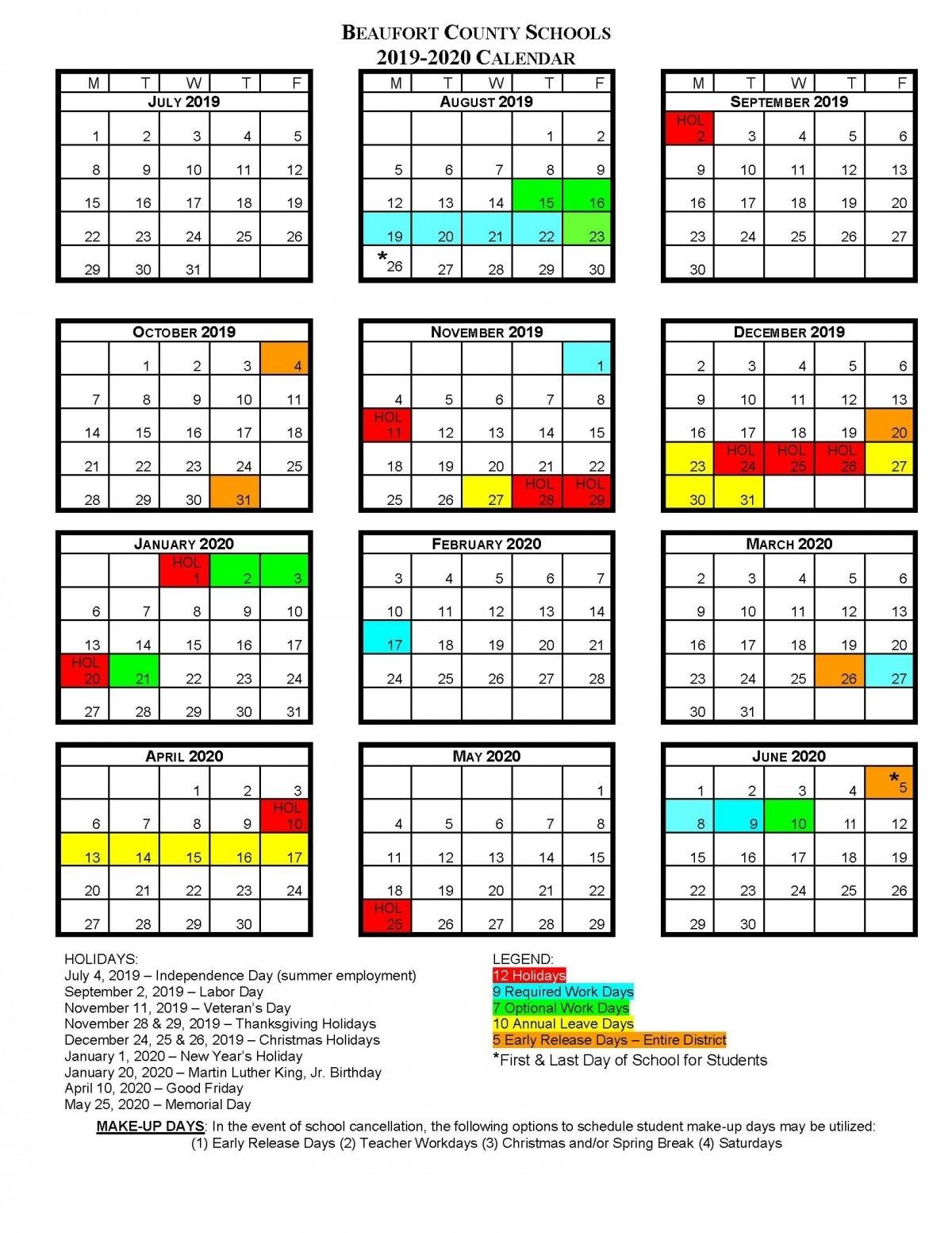 Bcs School Calendars | Beaufort County Schools Perky R-7 School District Calendar Jefferson County