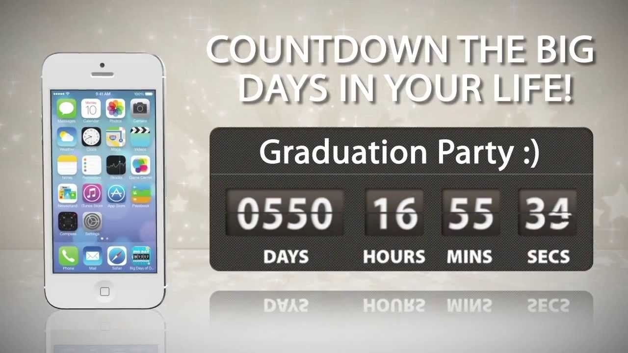 Big Days Of Our Lives Countdown Timer (Iphone, Android And Windows Phone  App) How Do I Set Up A Countdown On Iphone
