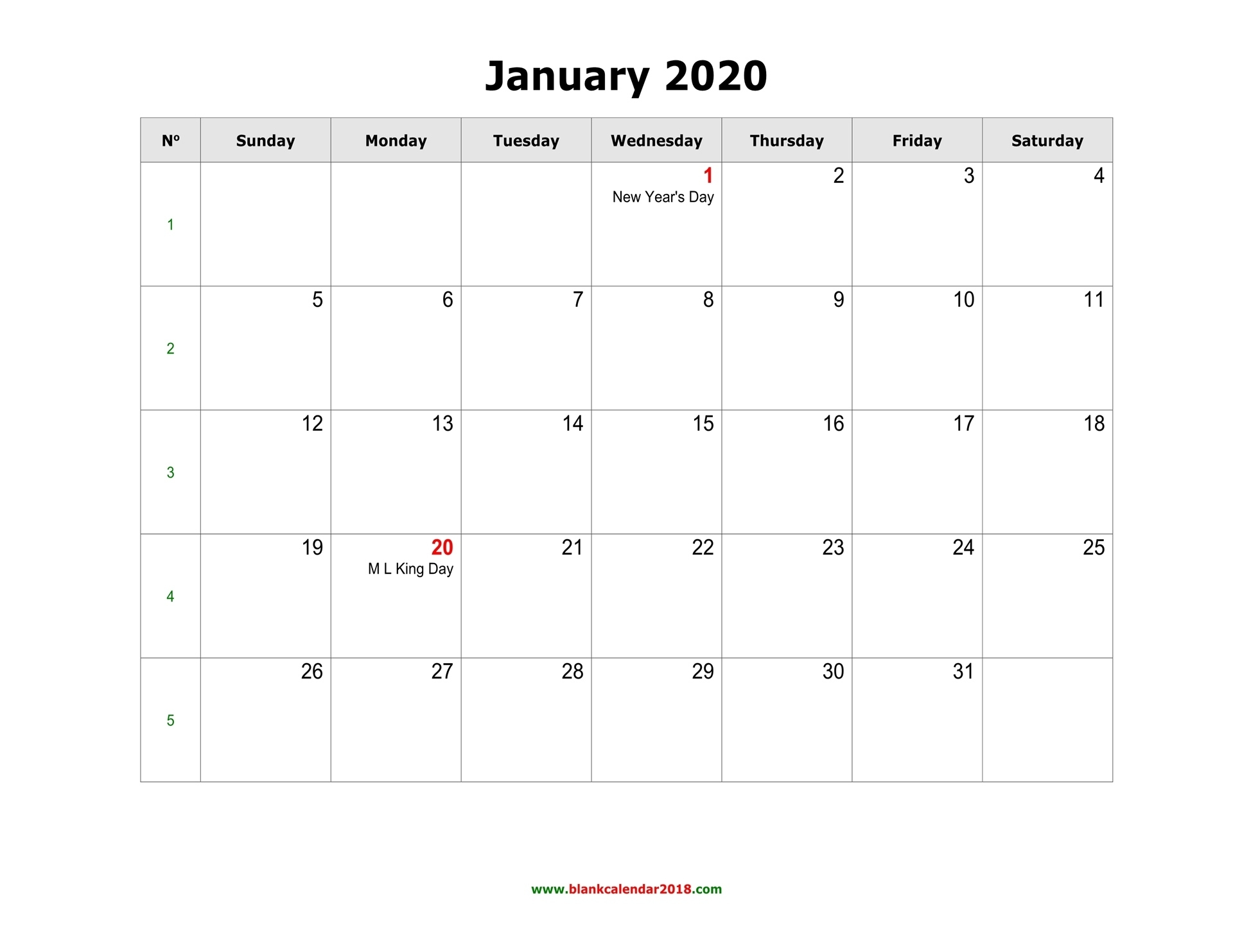 Blank Calendar 2020 Perky 2020 Monthly Calendar Template Word