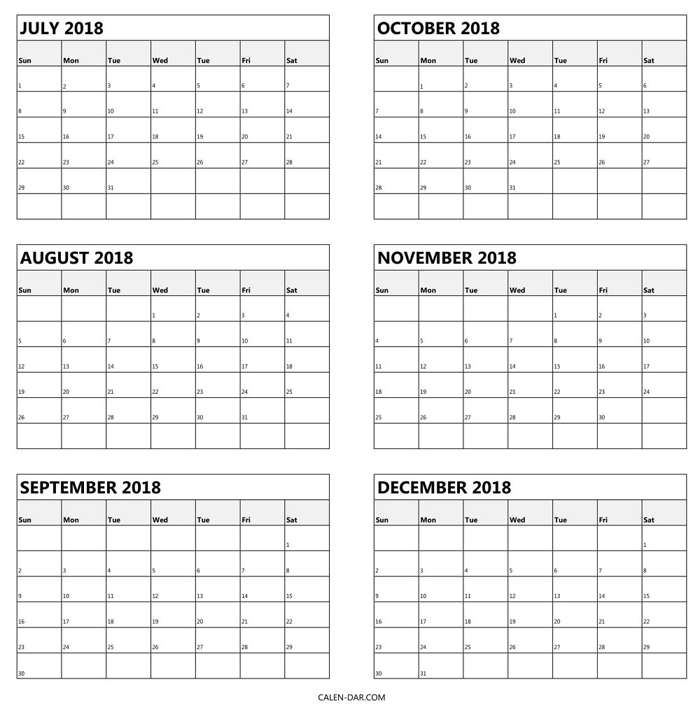 Calendar 6 Month - Colona.rsd7 Perky 6 M Onth Calendar On One Page