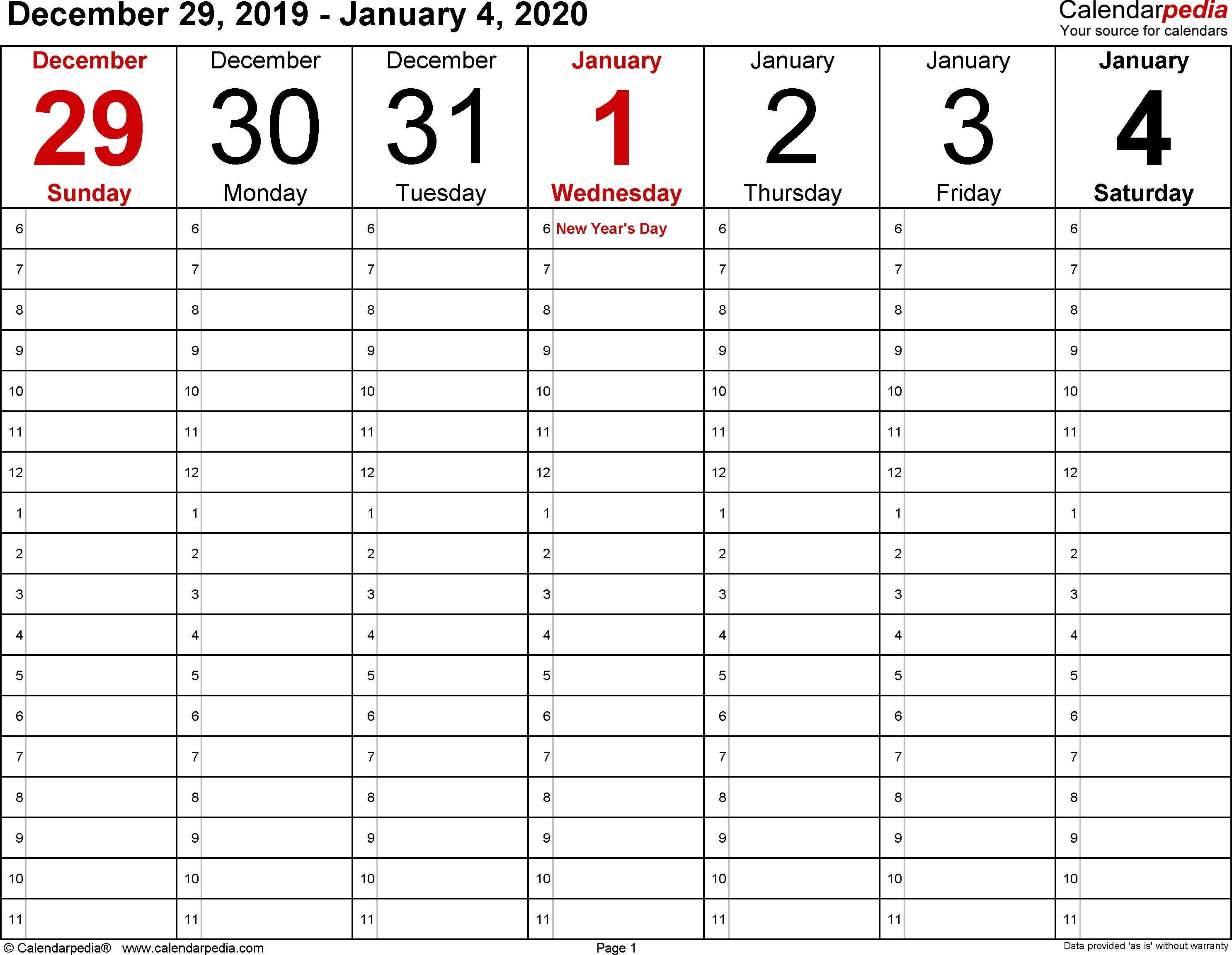 Calendarpedia - Your Source For Calendars Calendarpedia 2020 Printable South Africa