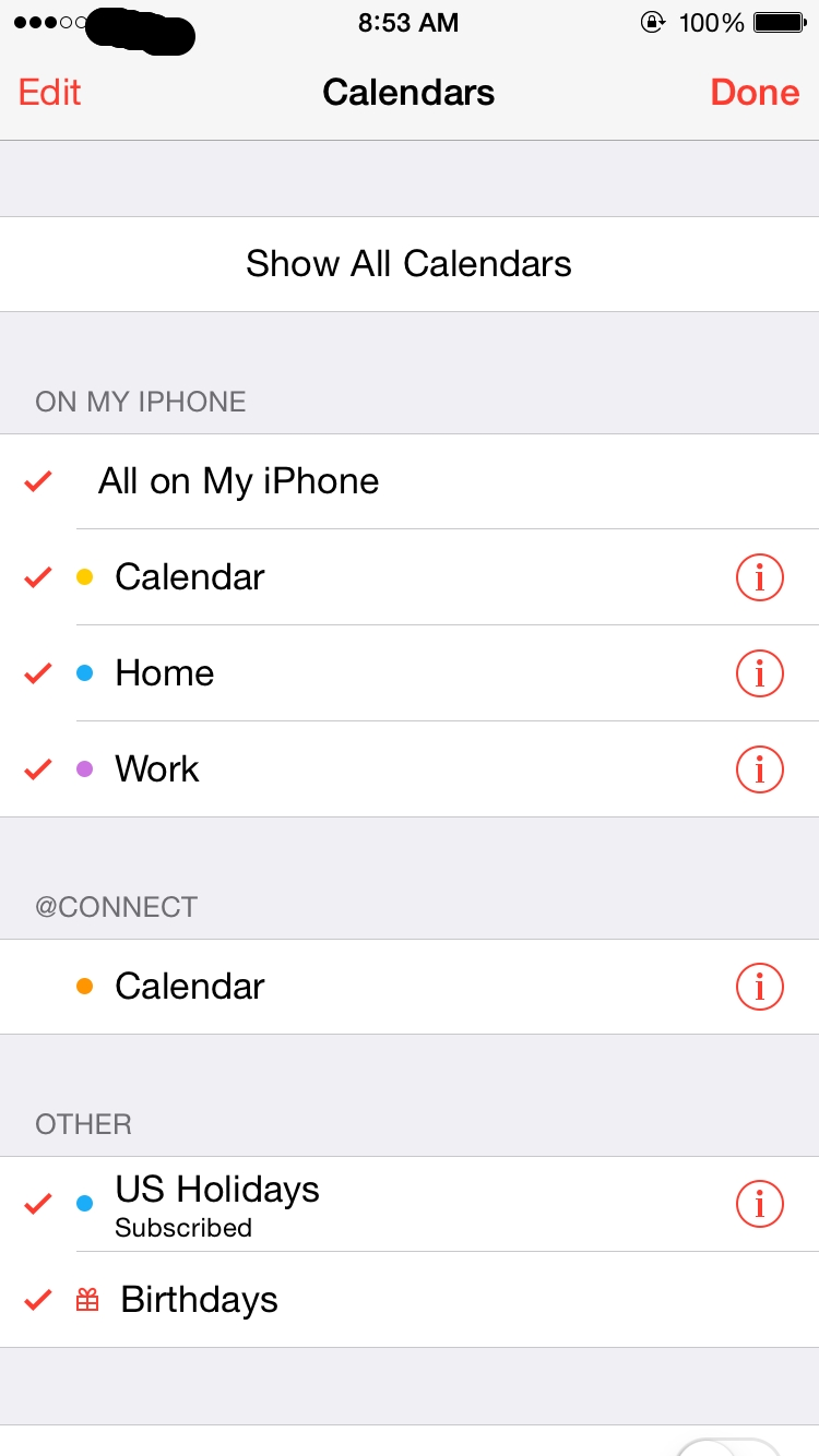 Changing Iphone Holiday Calendar To Your Local One Public Holidays On Iphone Calendar