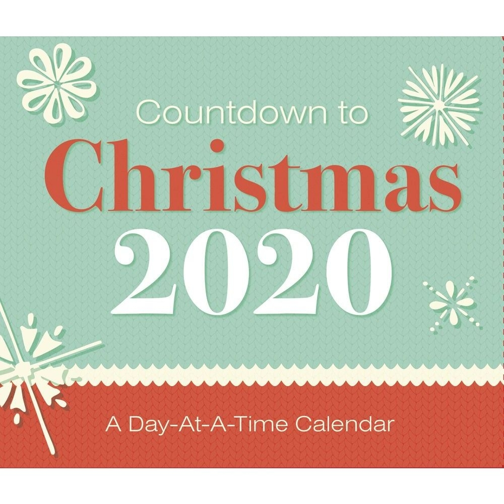 Countdown To Christmas 2020 Desk Calendar Countdown To Christmas Calendar 2020
