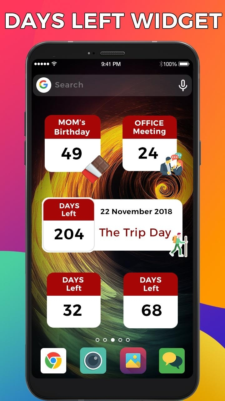 Dreamdays Countdown Widgets For Android - Apk Download How To Make Dreamdays My Home Screen
